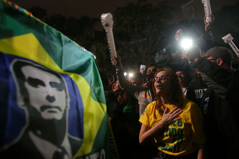 © Reuters. Second round of the presidential election in Brazil