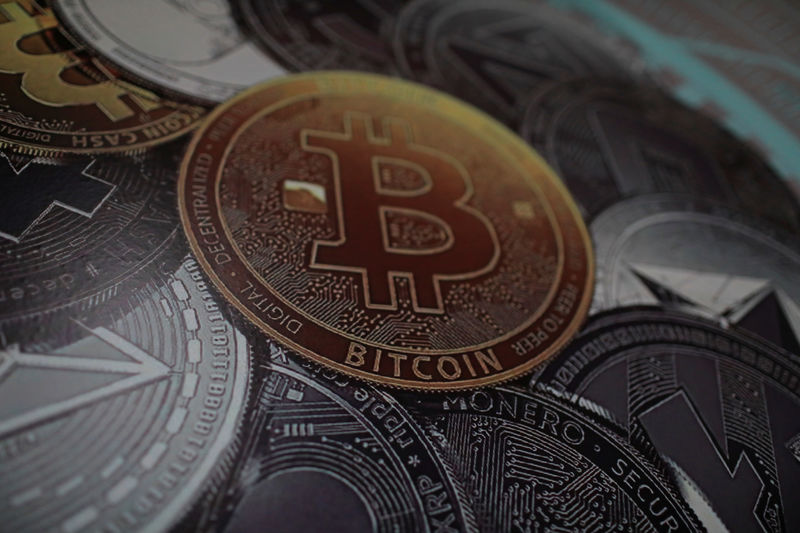 © Reuters. Logo do bitcoin