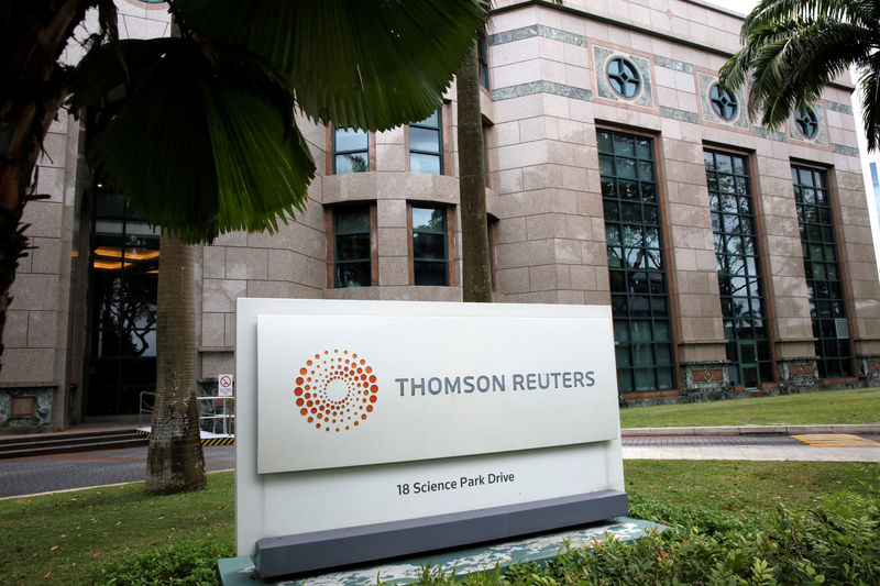 Thomson Reuters reports better-than-expected quarterly profit