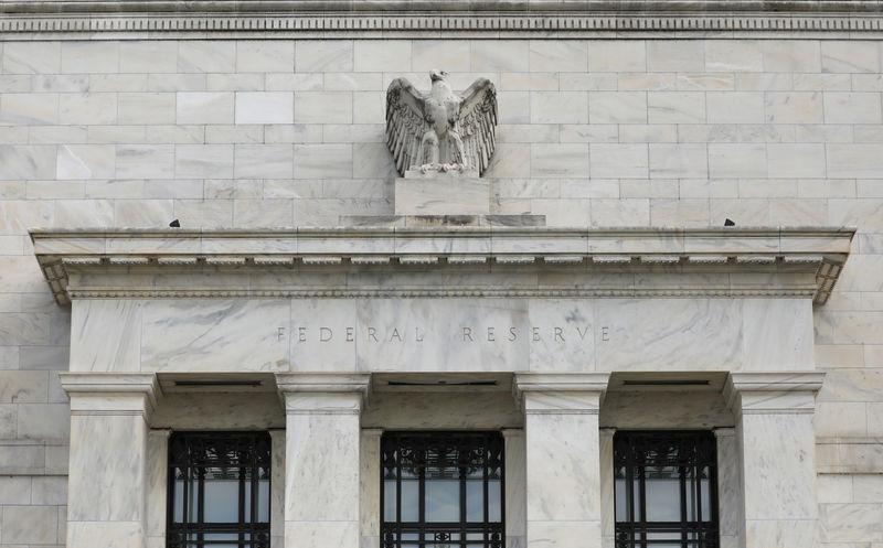 © Reuters. O prédio do Federal Reserve em Washington, DC. 22/08/2018.  REUTERS/Chris Wattie