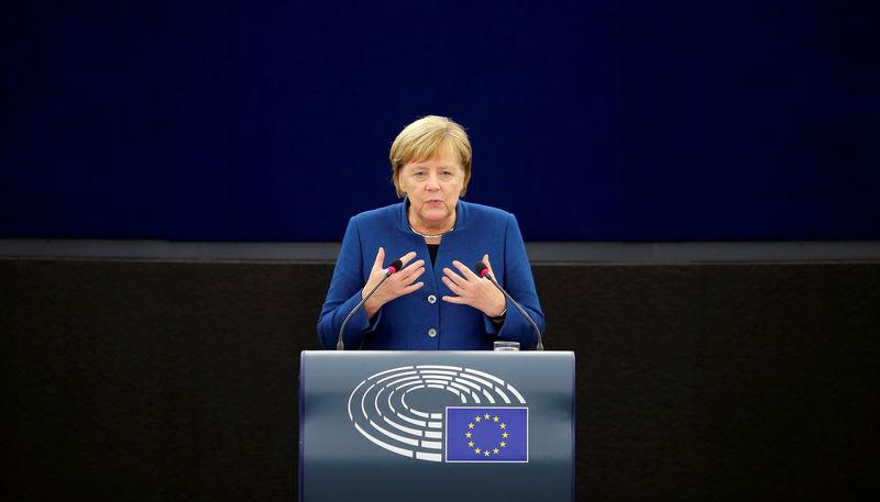 Germany's Merkel sees digital tax proposal by December: media report