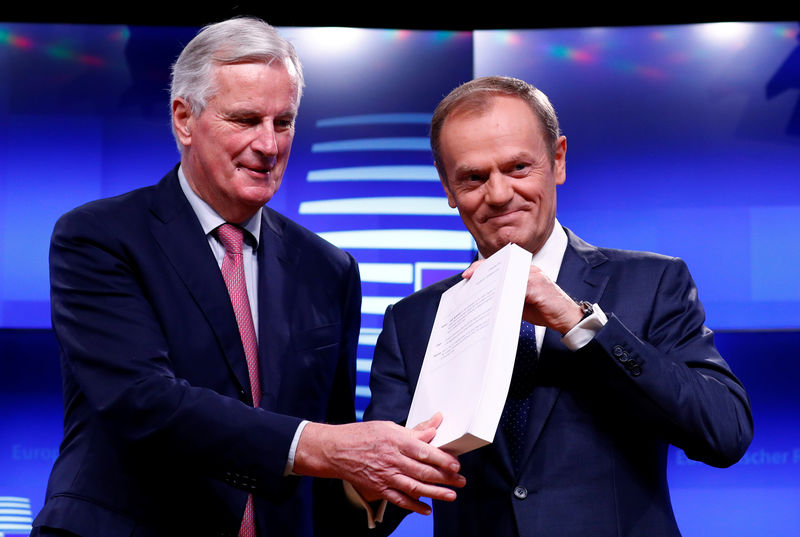 EU states offer Britain 'ambitious' ties after Brexit, but no frictionless trade