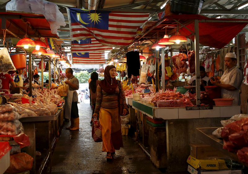 Malaysia's October inflation seen picking up to 0.6 percent year on ye