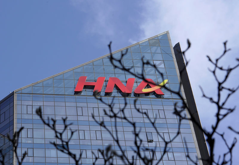 Exclusive: HNA in talks with bad debt firm Cinda as it extends $43 bil