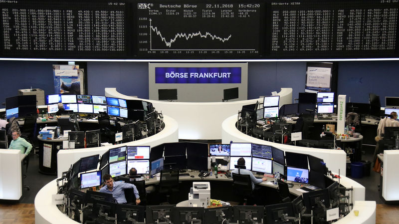 Europe rallies on Italy hopes, oil bounces after 'black' Friday