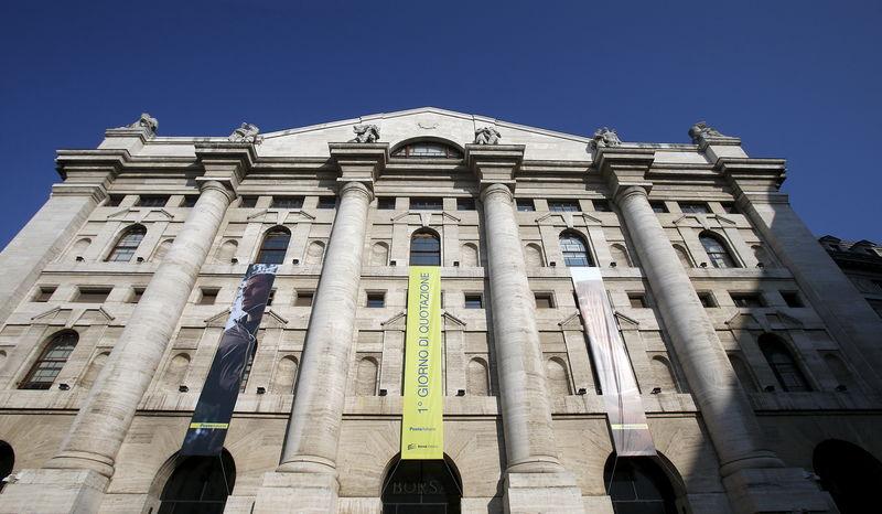 Acciones y bancos italianos suben ante el posible ajuste del déficit por el Gobierno
