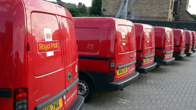 Royal Mail seen dropping out of top British stock index