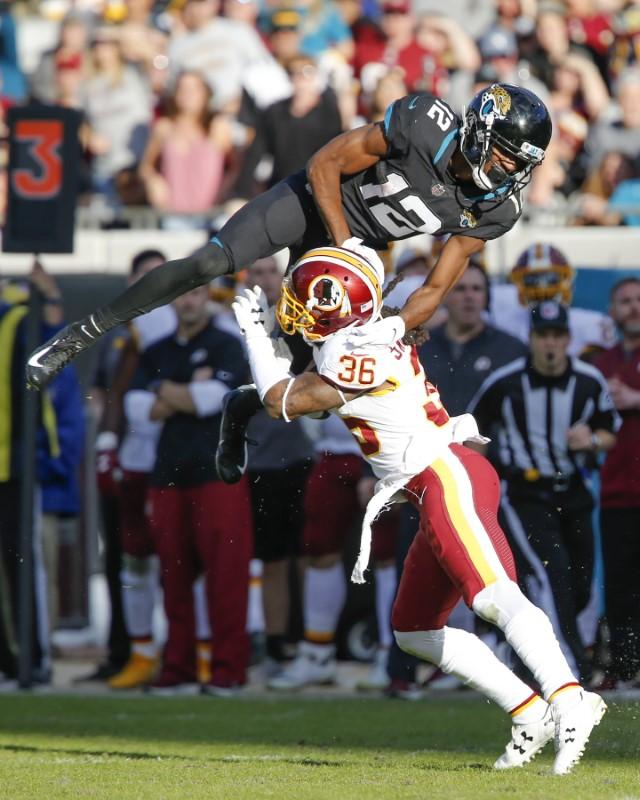 © Reuters. NFL: Washington Redskins at Jacksonville Jaguars