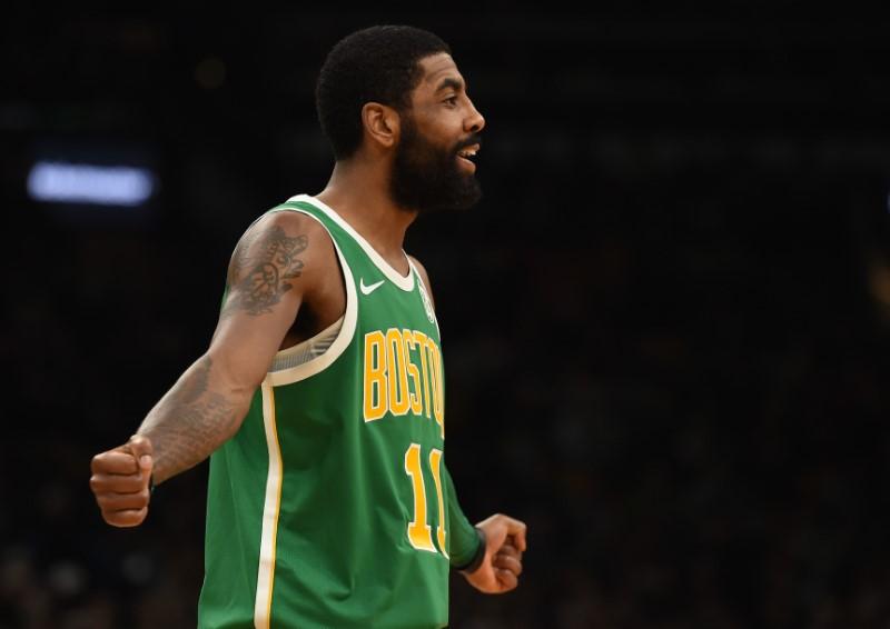 © Reuters. NBA: Philadelphia 76ers at Boston Celtics