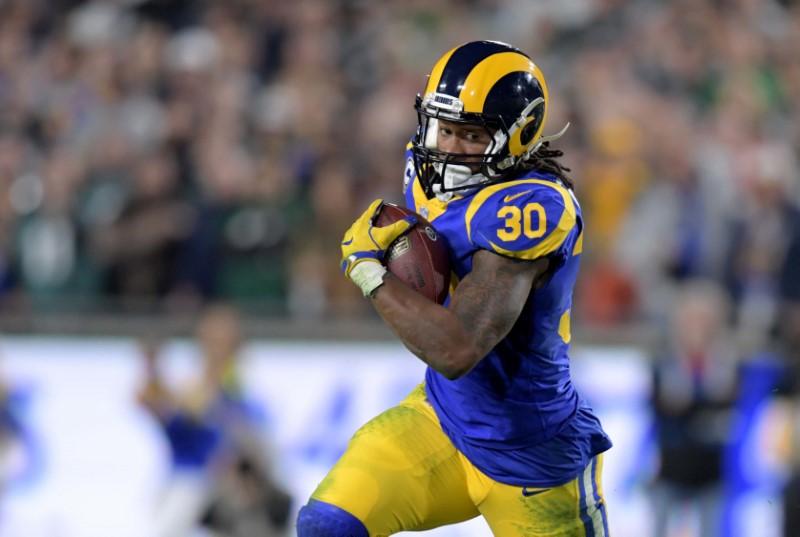 © Reuters. NFL: Philadelphia Eagles at Los Angeles Rams