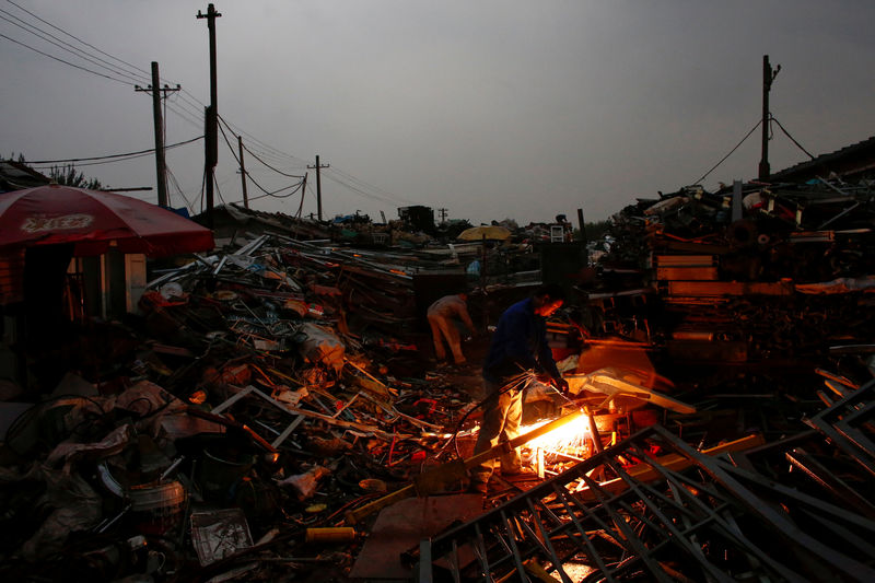 China to restrict imports of scrap steel, aluminum from July