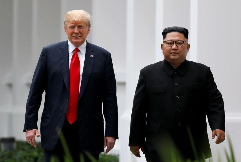 North Korea's Kim says ready to meet Trump but warns of 'new path'