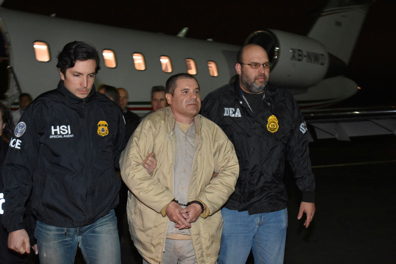 © Reuters. Mexico's top drug lord Joaquin