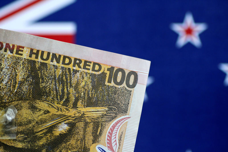© Reuters. Illustration photo of a New Zealand Dollar note
