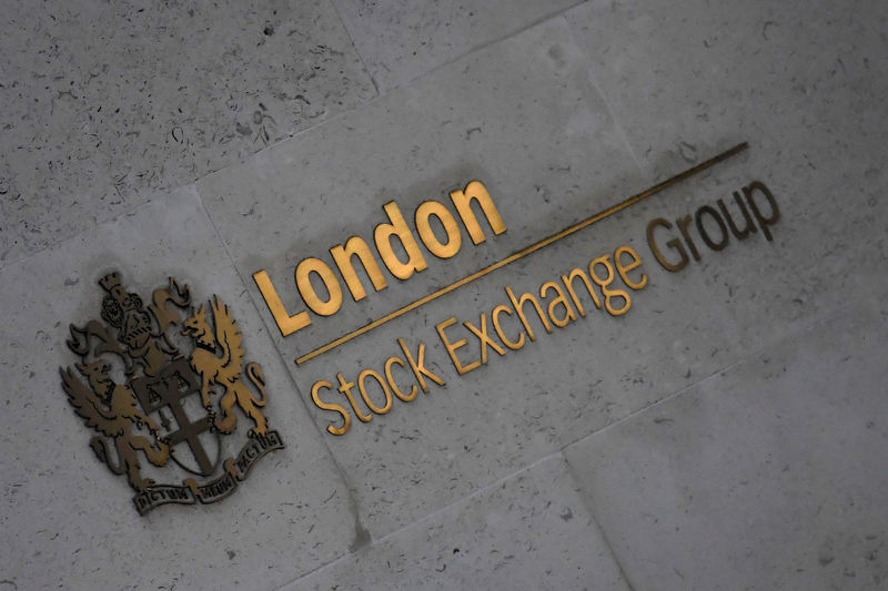 © Reuters. The London Stock Exchange Group offices are seen in the City of London, Britain
