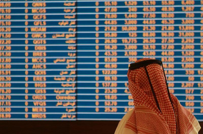 © Reuters. بورصة قطر تصعد لأعلى مستوى في نحو عامين والقطاع المالي يدعم معظم أسواق الخليج