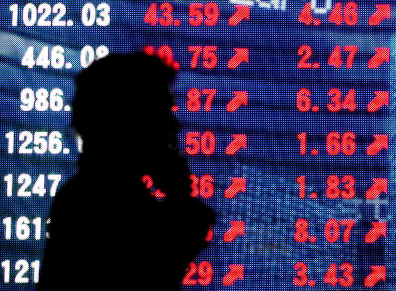 © Reuters. LES MARCHÉS FINANCIERS DÉCONNECTÉS DES FONDAMENTAUX