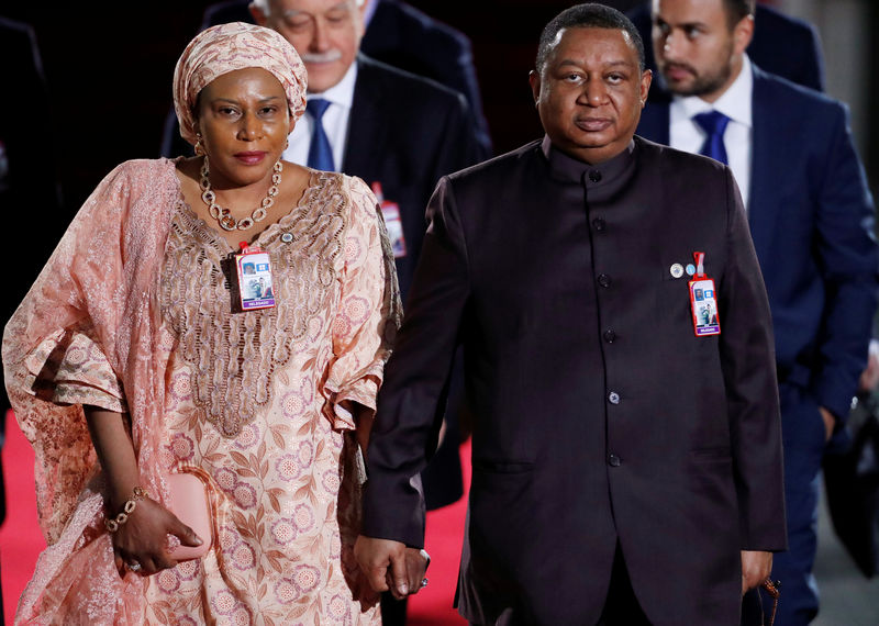 © Reuters. El secretario general de la OPEP, Mohammed Barkindo en una foto de archivo.
