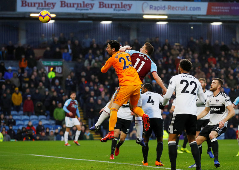 © Reuters. Premier League - Burnley v Fulham
