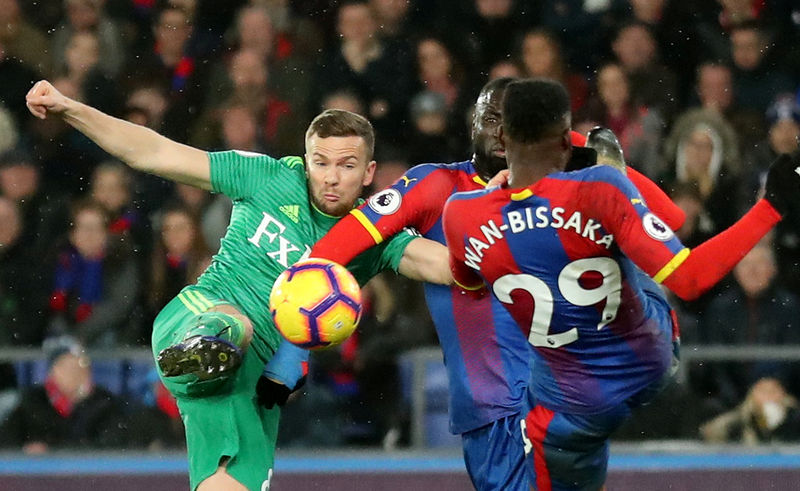 © Reuters. Premier League - Crystal Palace v Watford