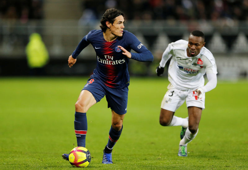 © Reuters. Ligue 1 - Amiens SC v Paris St Germain