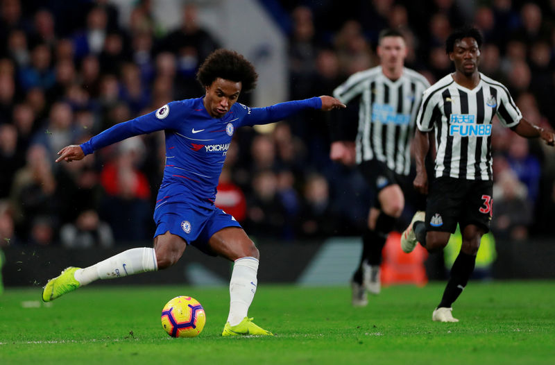 © Reuters. Premier League - Chelsea v Newcastle United