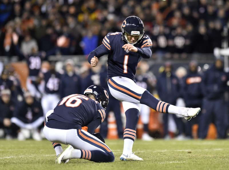 © Reuters. NFL: NFC Wild Card-Philadelphia Eagles at Chicago Bears