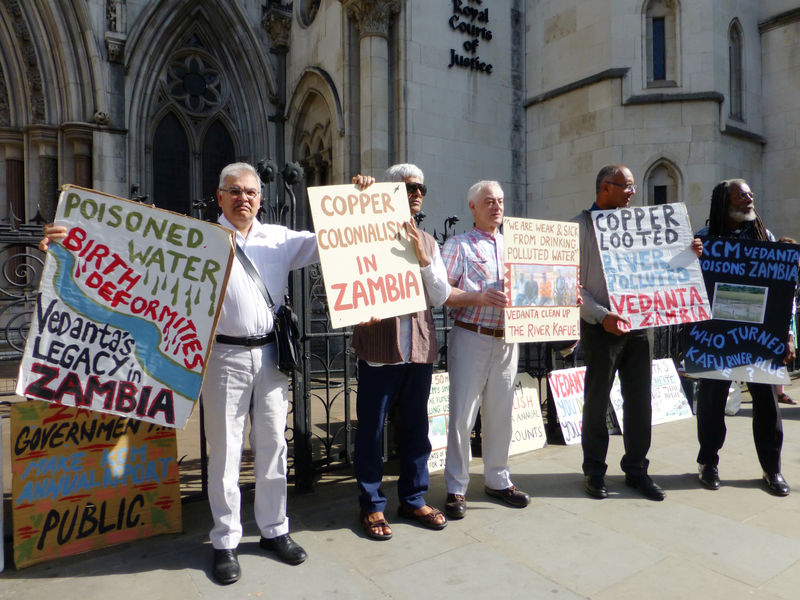 Vedanta tells top English court pollution case should be heard in Zambia