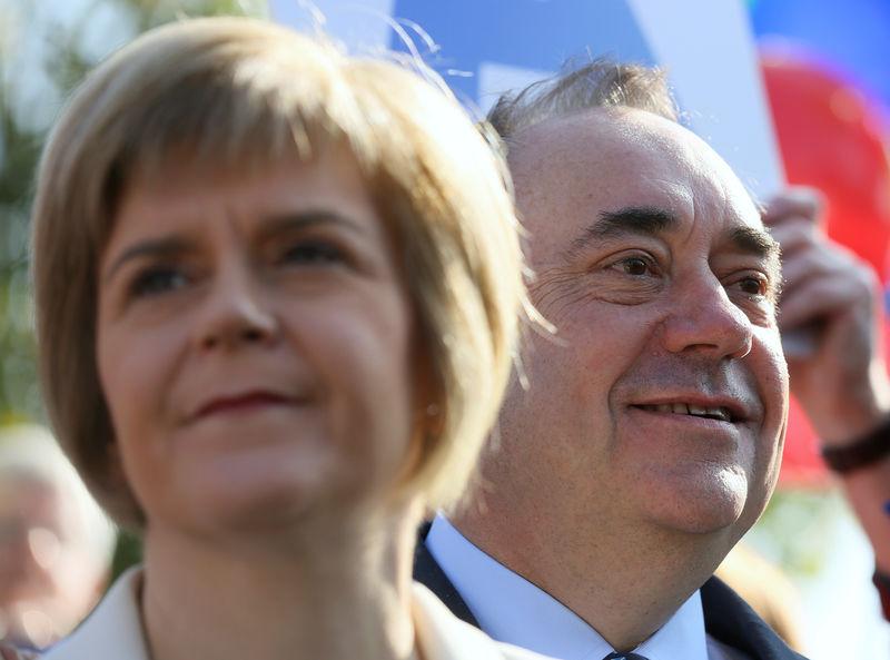 Scotland's Sturgeon under fire on handling of Salmond harassment case