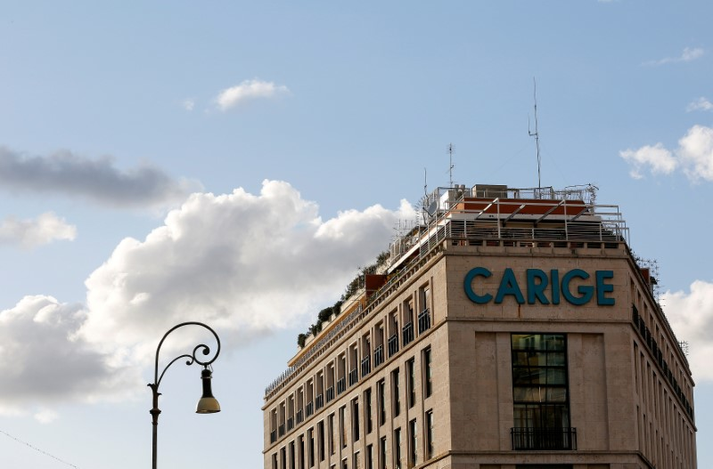Bank of Italy official says Carige offers strengths for buyer