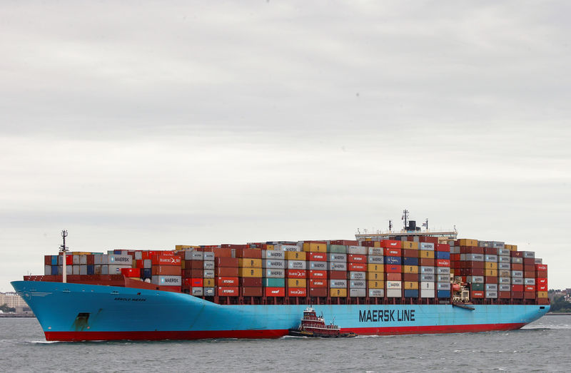 U.S. importers stocked up on Chinese goods ahead of tariffs, says shipper Maersk