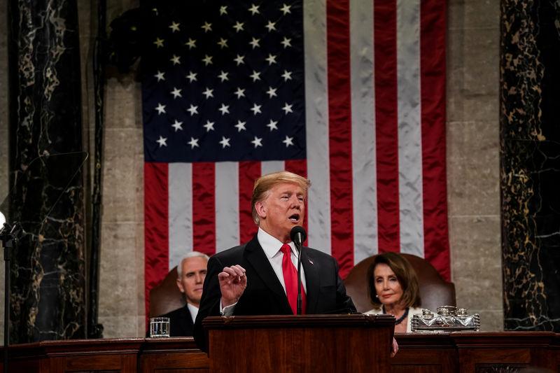 © Reuters. State address in Washington