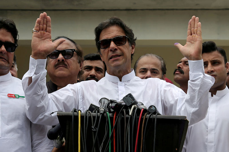 Pakistan premier Khan to meet IMF chief Lagarde for talks on bailout