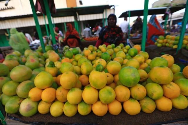 © Reuters. جهاز الإحصاء: التضخم في السودان ينخفض إلى 43.45% في يناير