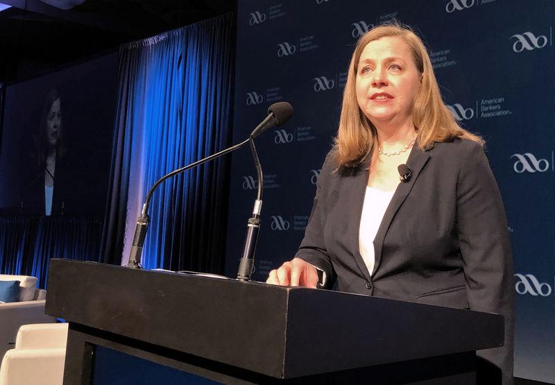 © Reuters. Michelle Bowman faz declaração em conferência em San Diego, EUA