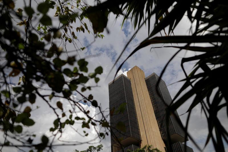 © Reuters. Prédio do Banco Central em Brasília
