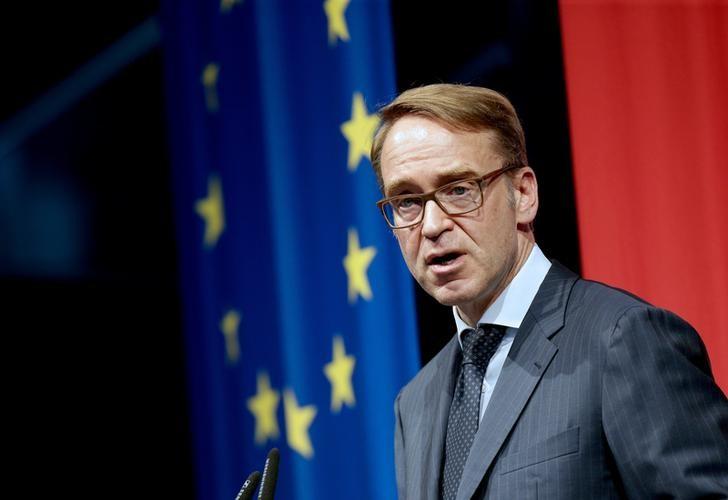 © Reuters. Presidente do Bundesbank, Jens Weidmann