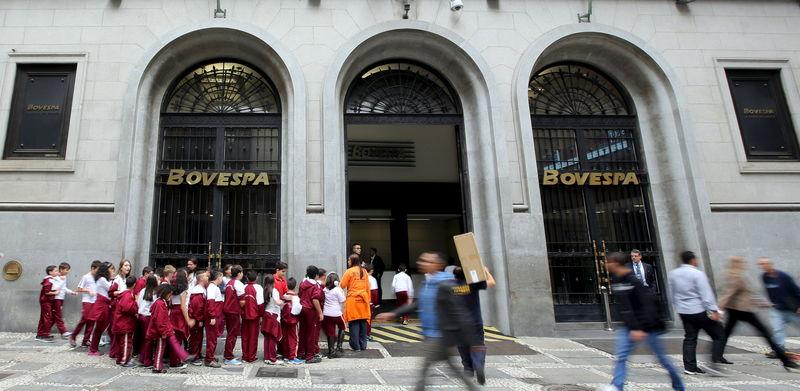 © Reuters. Sede da B3 em São Paulo