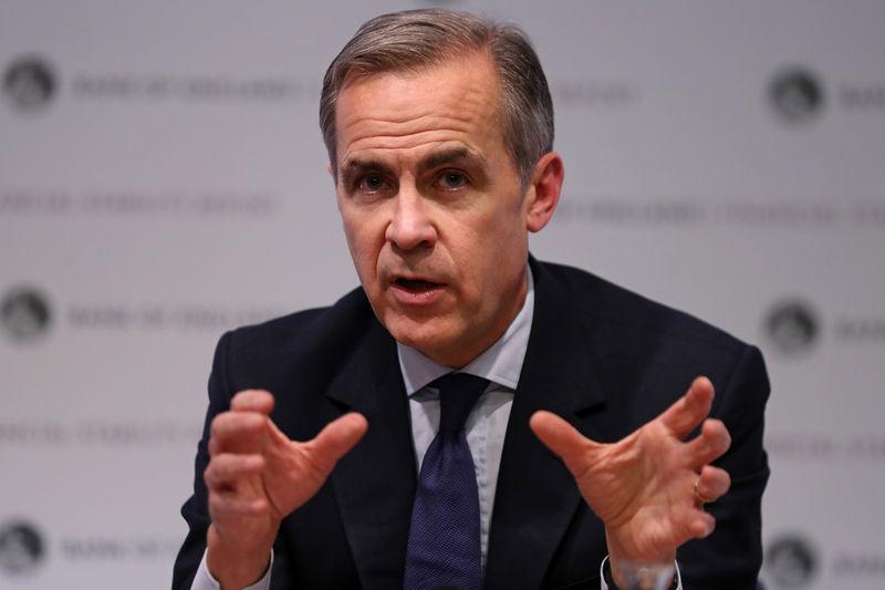 © Reuters. El gobernador del BoE ve un