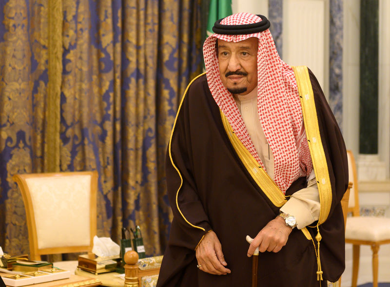 Saudi king launches $22 billion development projects in capital Riyadh