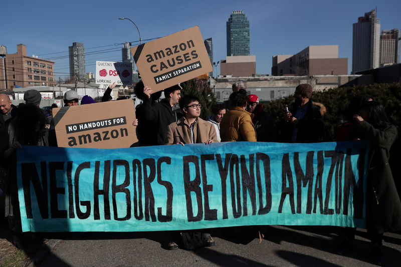 As Amazon drops New York City project, progressives claim a major coup
