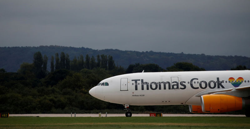 Thomas Cook enlists three banks to prepare airline sale - source