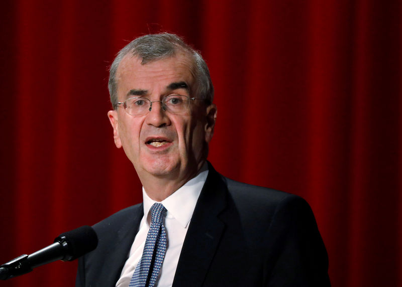 ECB rate move hinges on downturn's duration: Villeroy