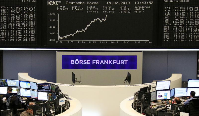 © Reuters. Germany's DAX Stock Index Index in Frankfurt