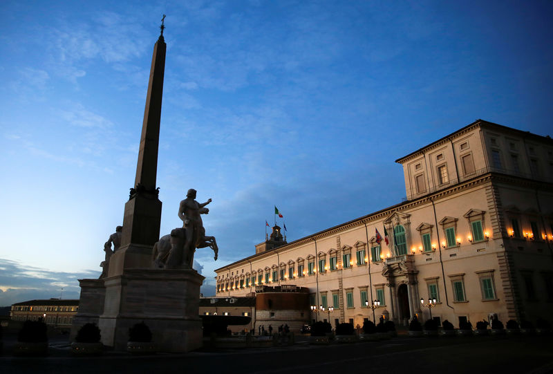 Italy budget unable to boost long-term growth - paper citing EU document