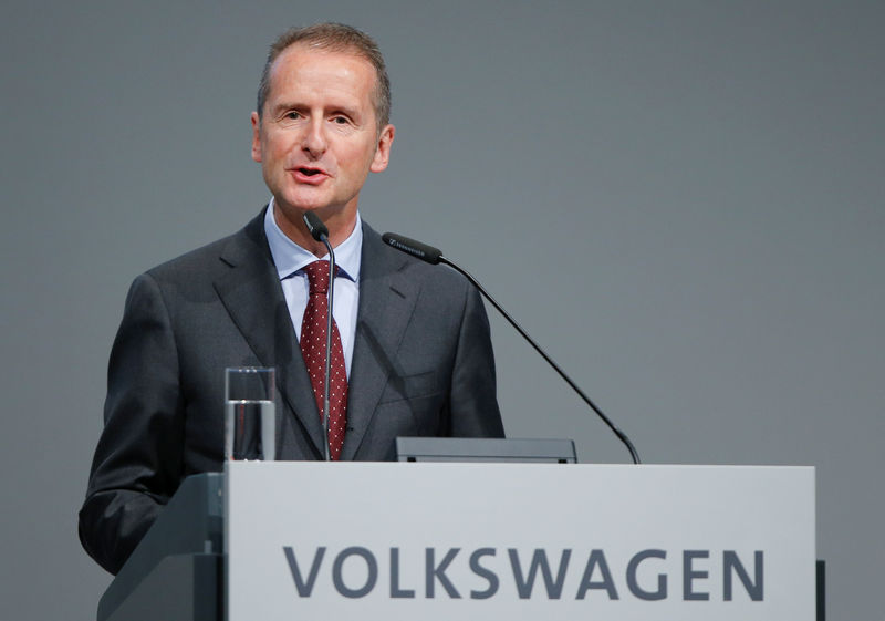 VW boss says U.S. tariffs could cost up to 2.5 billion euros - Financial Times