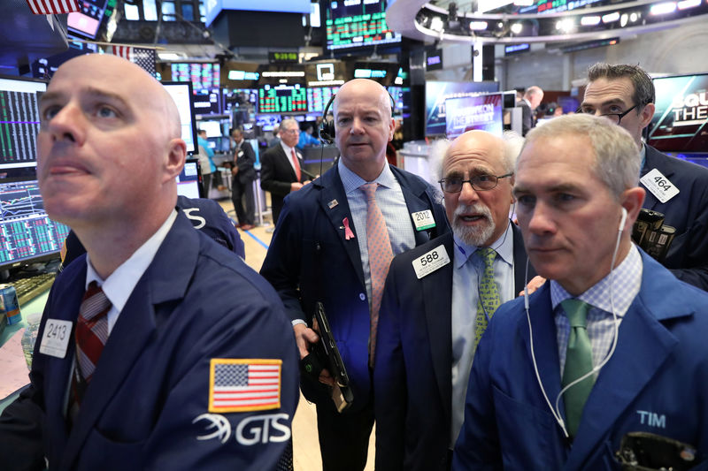 Wall St. set to open lower after economic data