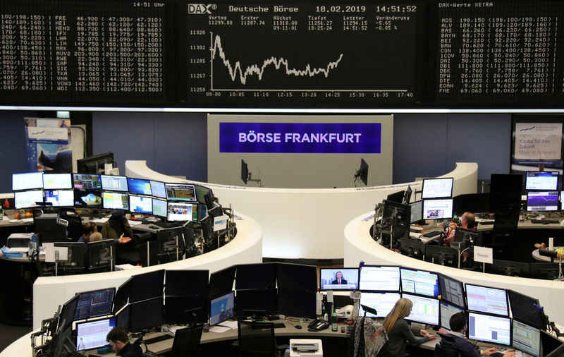 European shares flat, results from Elekta, Sika, Sopra Steria drive big swings