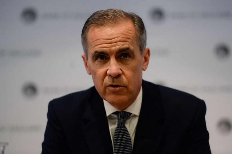 © Reuters. Bank of England press conference