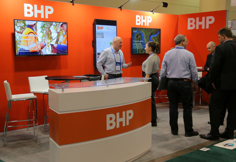 BHP buys stake in Canadian firm that extracts emissions from the air
